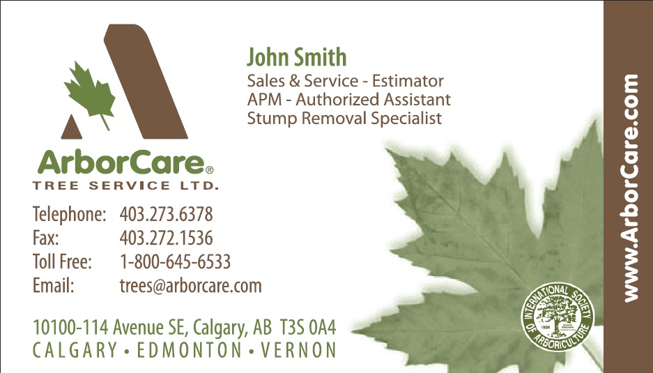 Best Tree Service Business Cards Contemporary - Business Card Ideas ...